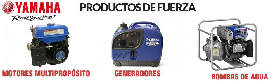 PRODUCTOS DE FUERZA - YAMAHA